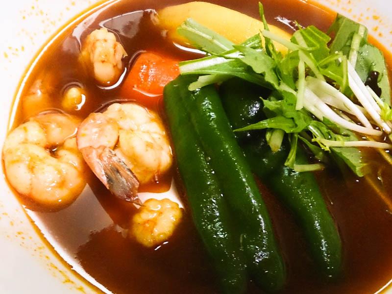 ビミョウなスープカレー… 1