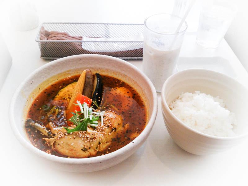 【閉店】天竺Jr.で南インドのスープカレー 4