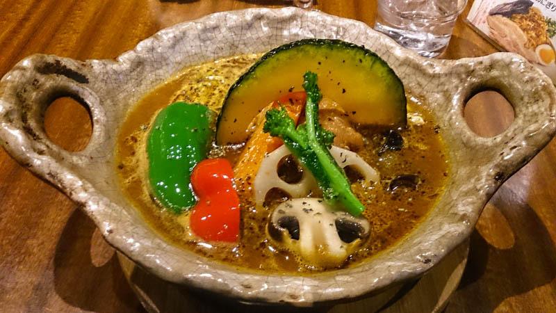 カレー気分でスープカレー気分 4