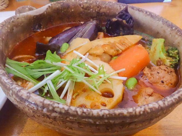 カレー気分でスープカレー気分 10