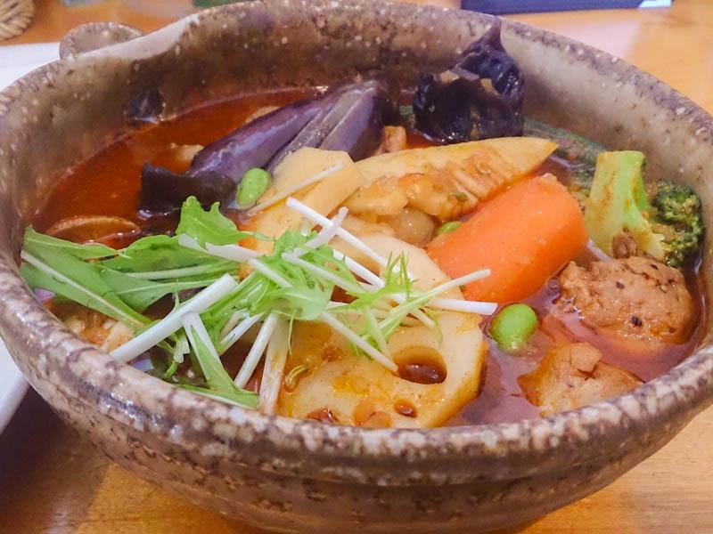 カレー気分でスープカレー気分 1