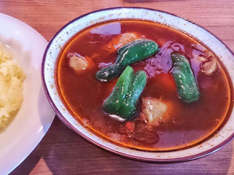 カレー気分でスープカレー気分 5