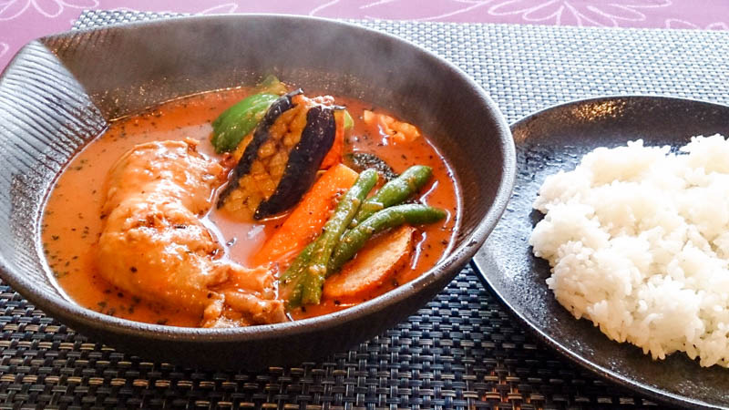 【移転】青汁入りのスープカレー 6