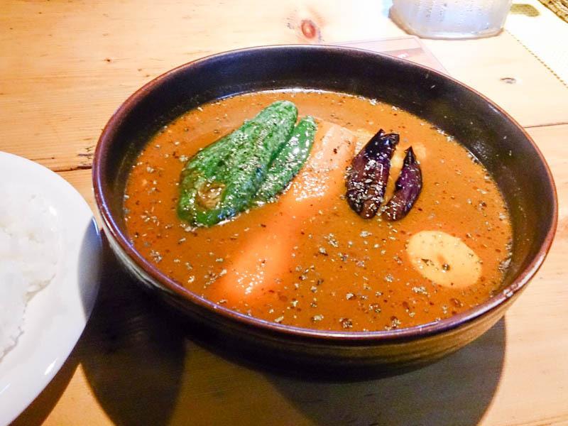 釣堀屋さんのスープカレー 5