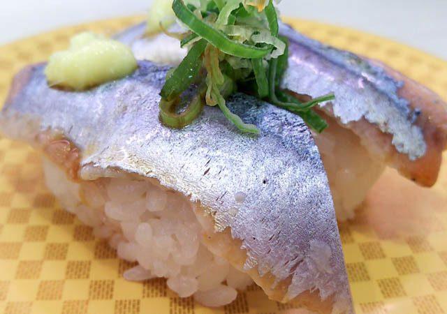 回転しない100円回転寿司で昼食 39