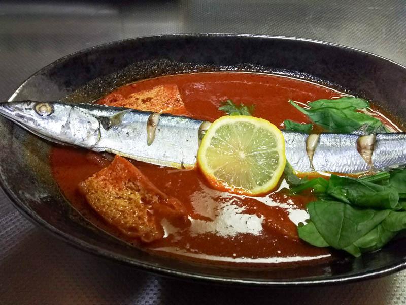 トマトベースのスープカレーを作ったの巻 その2(夕食) 1