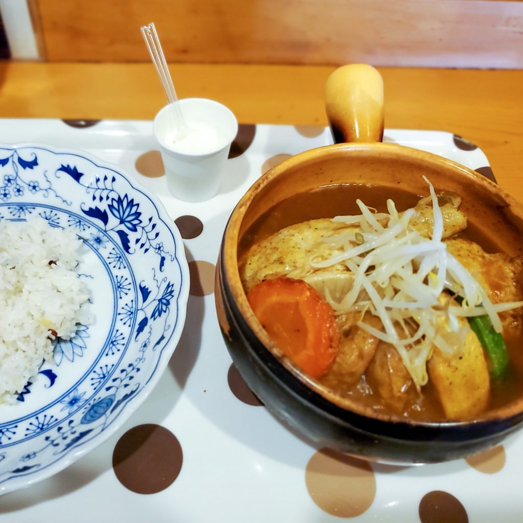 野菜の旨味を味わうスープカレー「健康的カレー専門店 とら 」 3
