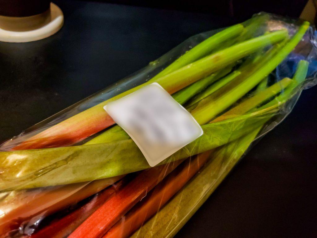 セロリみたいな野菜なのに杏のように酸っぱい?果物のような「ルバーブ」でジャム作り 2