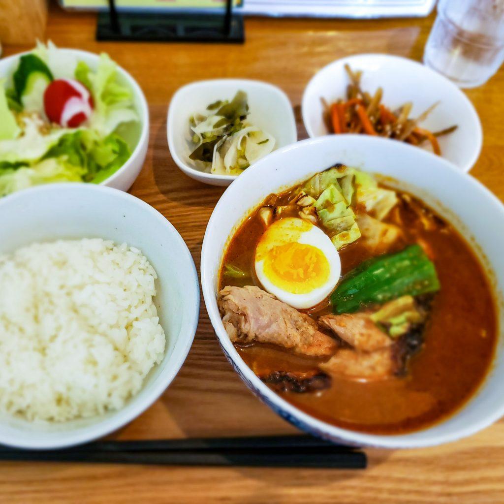 お得な「スープカレー定食」で猛暑をのりきれ!(スープカレー34) 2