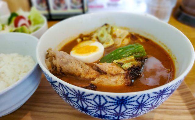 お得な「スープカレー定食」で猛暑をのりきれ!(スープカレー34) 15