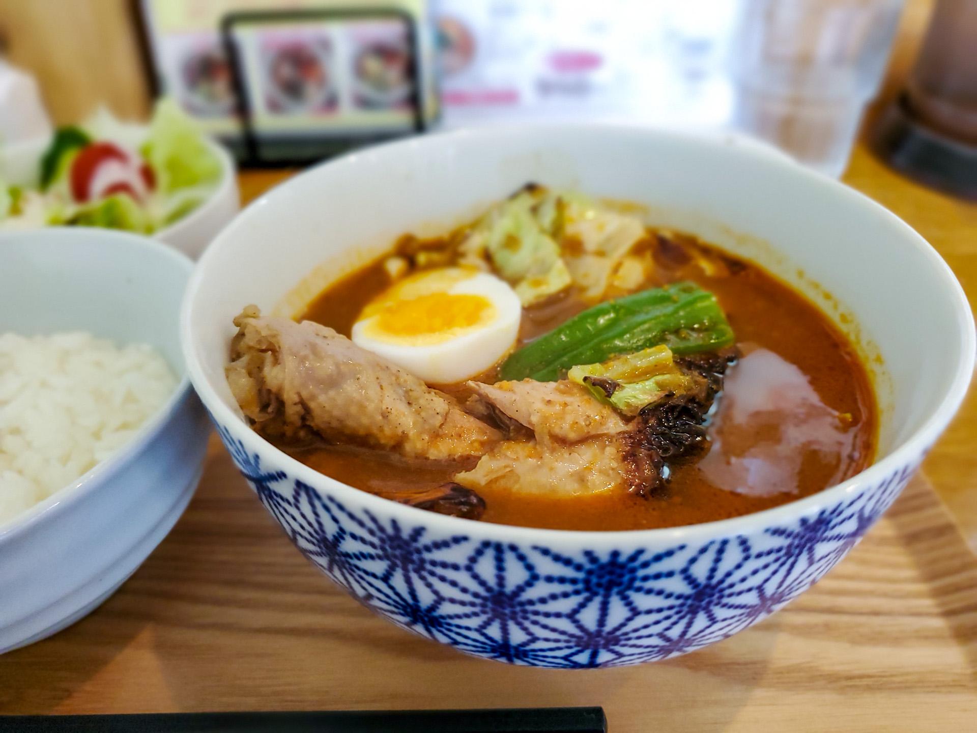 お得な「スープカレー定食」で猛暑をのりきれ!(スープカレー34) 7