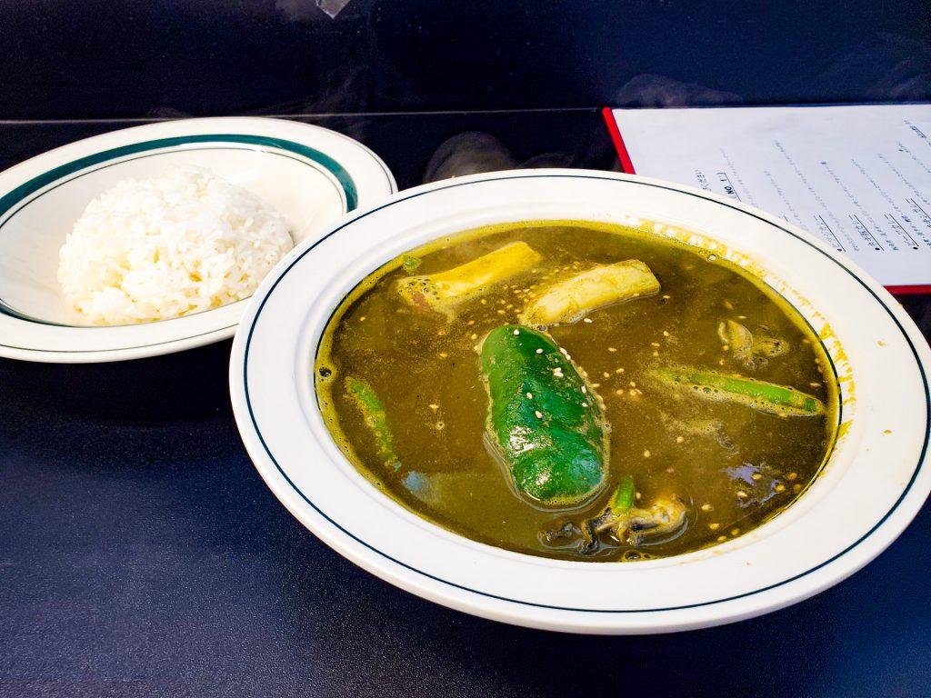 青汁とカレーの相性は? 体に良い事に違いないスープカレー 「カレー魂 デストロイヤー」 8
