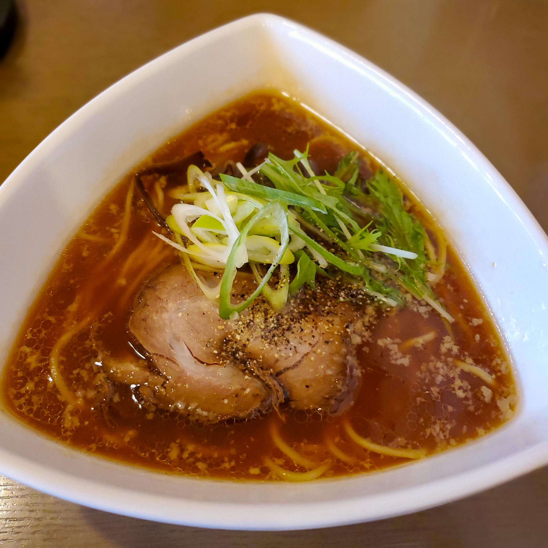 岡山らぁめん 心太 | 札幌で食べる初めての岡山ラーメンのお味は? 1