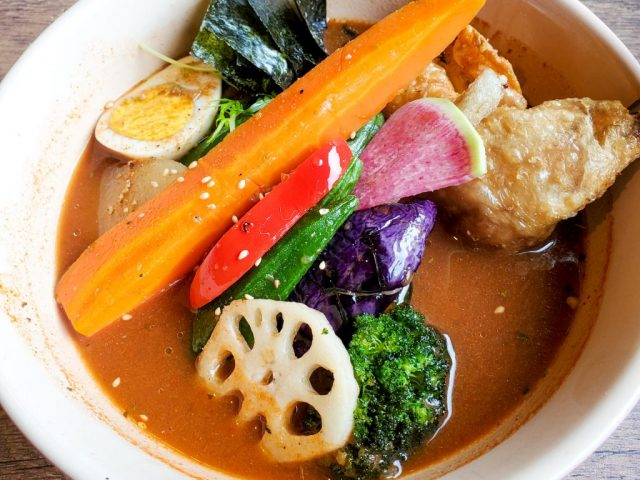 札幌スープカレーHIGUMA | 基本具材が22種類も!八百屋さんのスープカレー 33