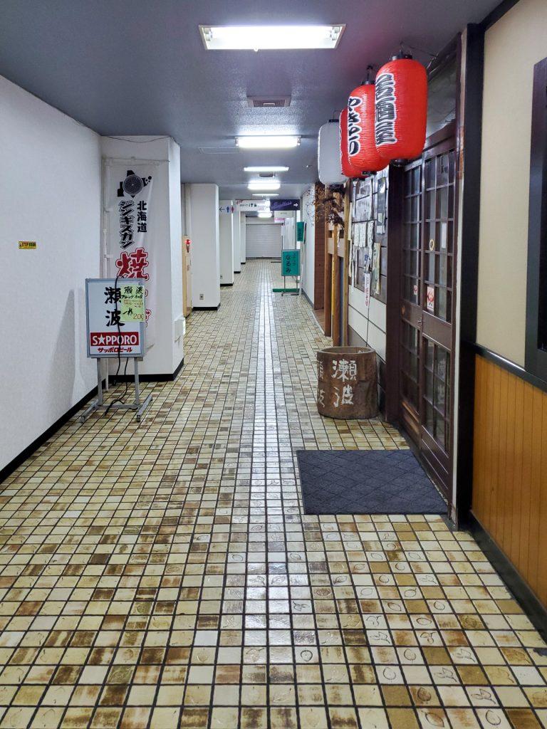 名水手打そば処 大草 | 昭和な飲食ビルの地下1階にある蕎麦屋さん 5
