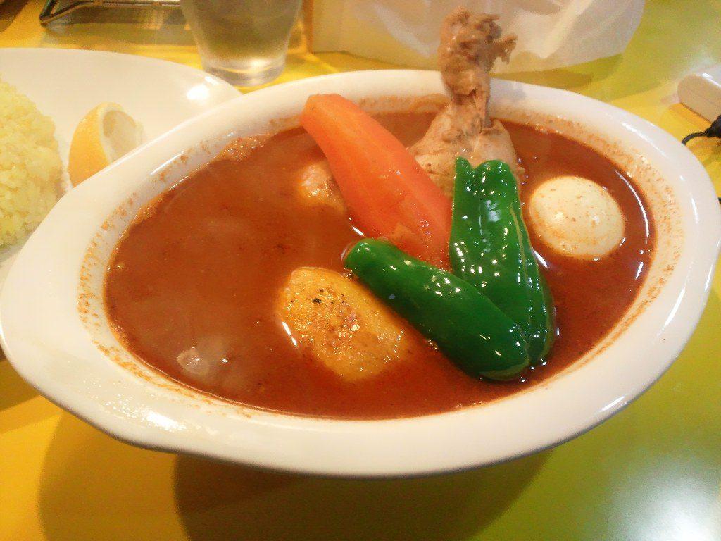 【閉店】porcoで美味しいスープカレー! 1