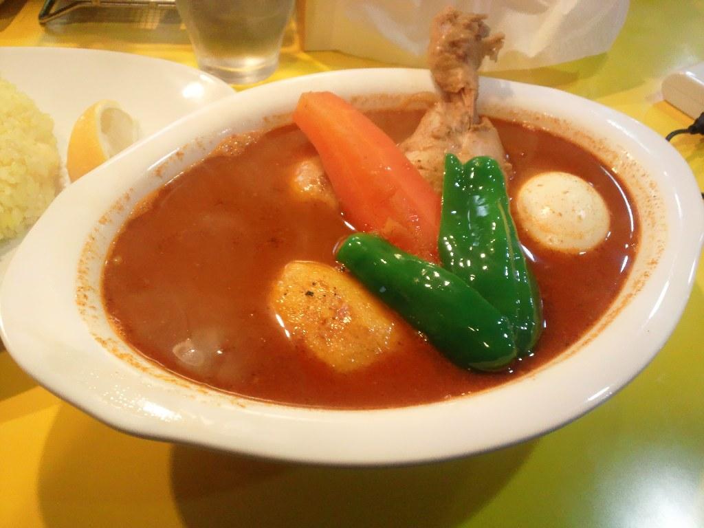 【閉店】porcoで美味しいスープカレー! 2