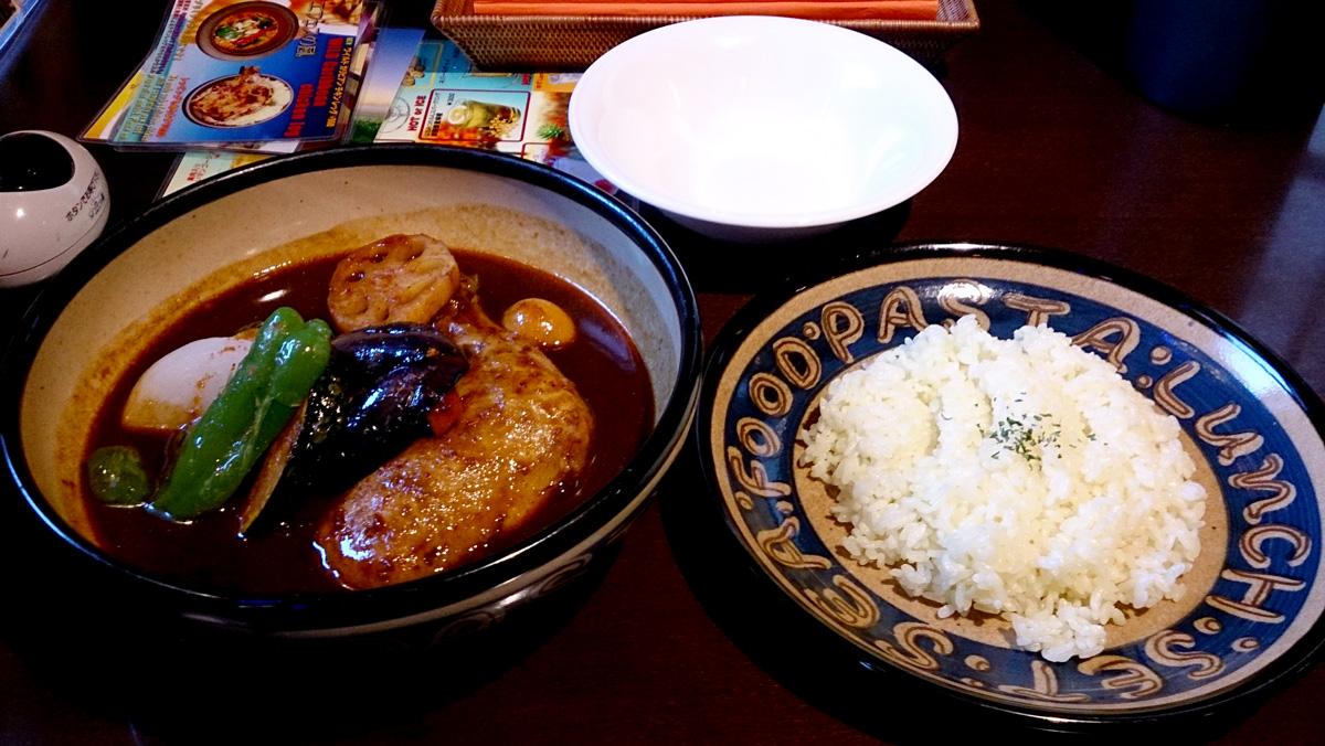【移転】象SA[キサ]で濃厚なスープカレー 10