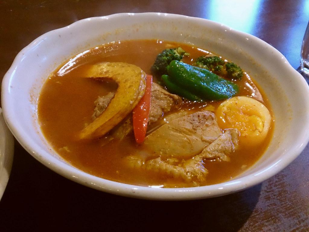 アジャンタ総本家でスープカレー 5