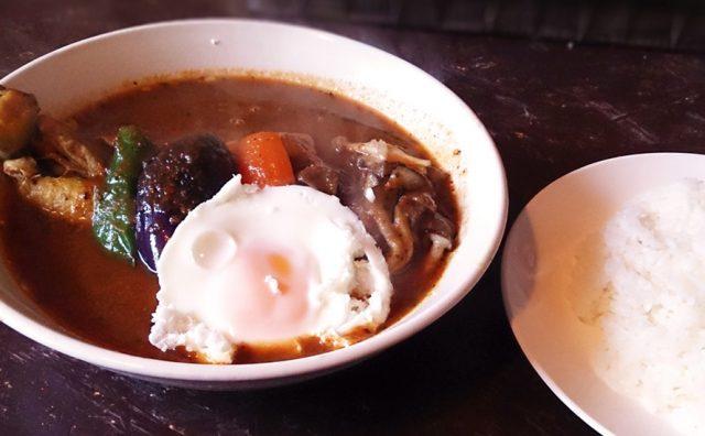ファットバンブーで濃厚スープカレー 8