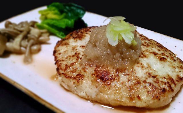 豆腐と鳥挽肉のハンバーグ 26