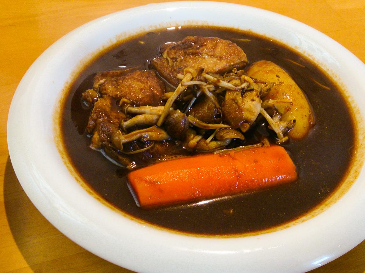 帯広でスープカレーを食べる 3