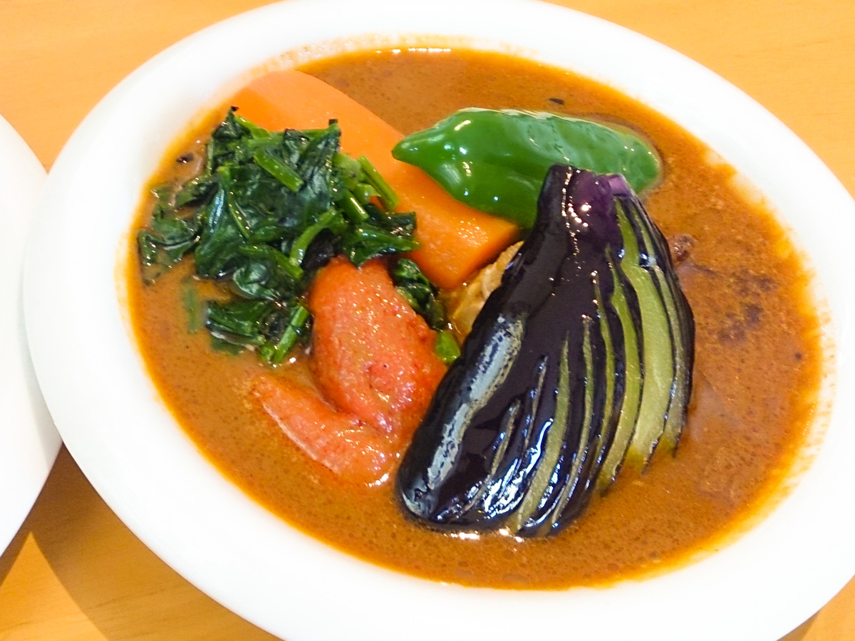 帯広でスープカレーを食べる 4