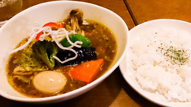 【閉店】中央区でスープカレー 7