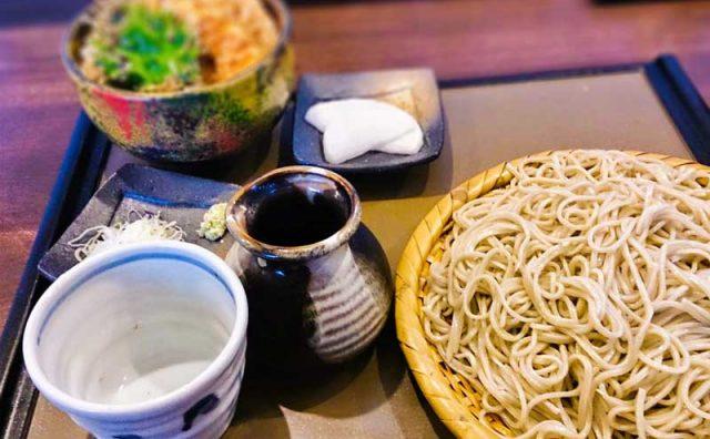 天丼と大盛り蕎麦 14