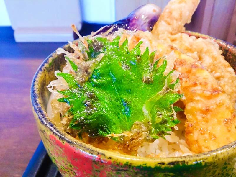 天丼と大盛り蕎麦 3