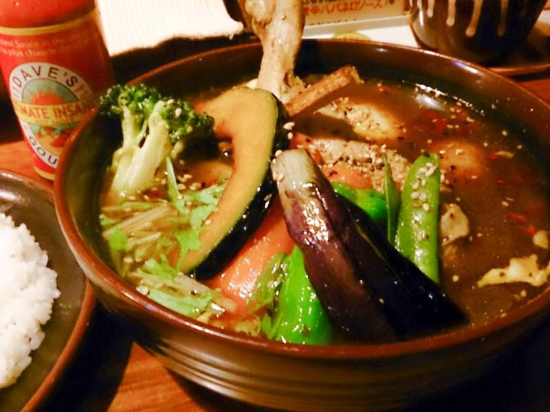 天丼と大盛り蕎麦 6