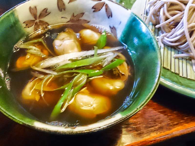 釧路で牡蠣そば 3