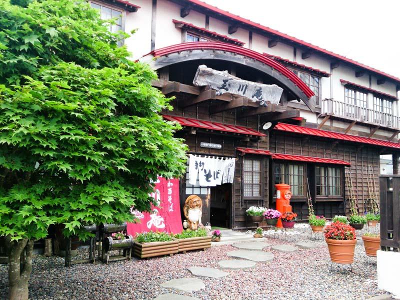 釧路で牡蠣そば 5