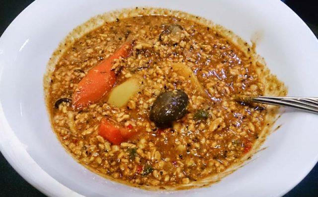 2食目の簡単スープカレー 42