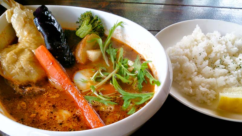 【閉店】ヴォイジュのスープカリー「マンダラ卍曼陀羅」 5