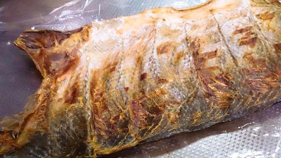 鮭のツマミ 3