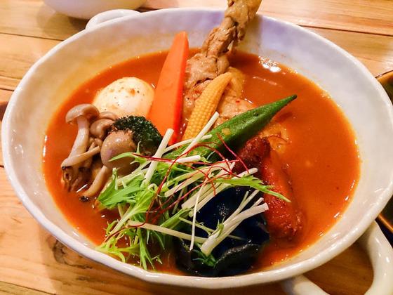 今年初スープカレーは…トムトムキキル [清田区] 2