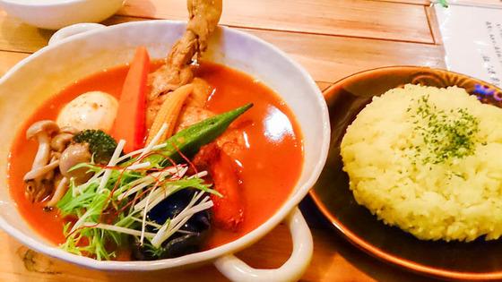 今年初スープカレーは…トムトムキキル [清田区] 3