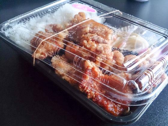 唐揚げ弁当 その量に… 札幌市南区の弁当屋さん 3