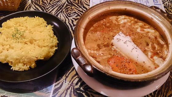 タイガーカレーのスープカレー 2