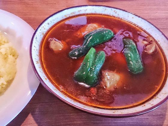 アジャンタの薬膳スープカレー 2