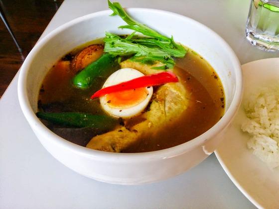 サラサラのスープカレー Curry Power パンチ 2