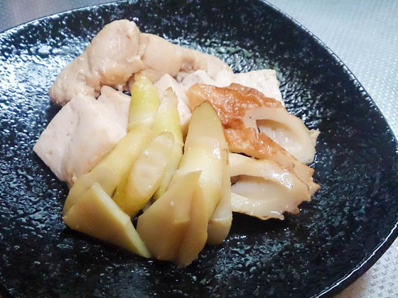 旬の山菜と魚を食べましょ 5