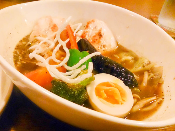 【閉店】Spice Cafe verodecaでスープカレー 2