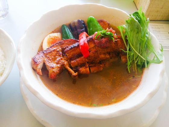 Curry Power パンチの梅スープカレー 3
