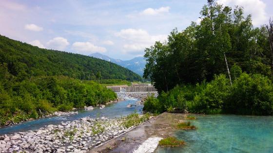 青い池とジュンドック(富良野から美瑛へ) 5