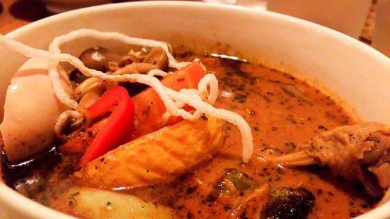 【閉店】Spice Cafe verodecaで半年ぶりのスープカレー 2