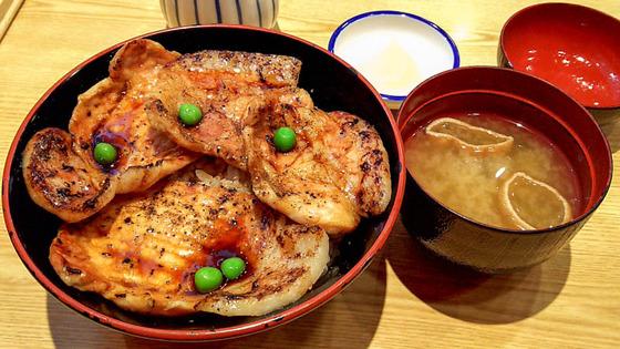 帯広で豚丼_ぶたはげ 3