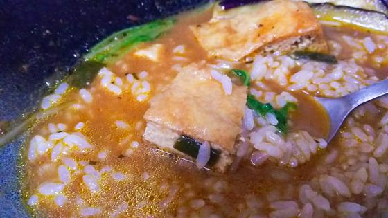 豆腐と生揚げのスープカレーを作る 5