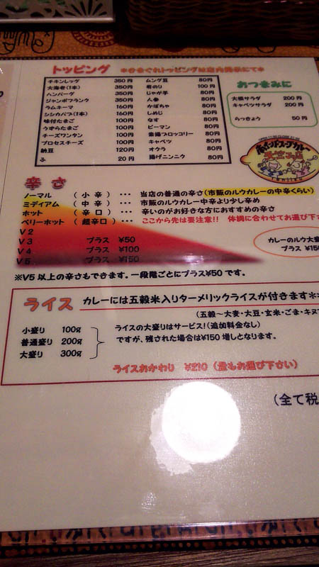【閉店】天竺Jr.のシシカバブカレー 6